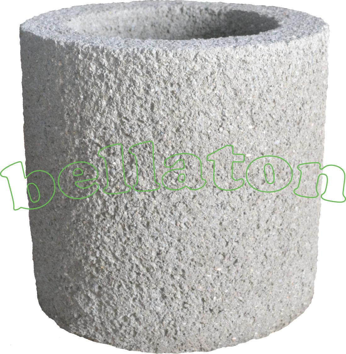"bellaton - bellaton - blumentrog, pflanzkübel""standard"" grau"